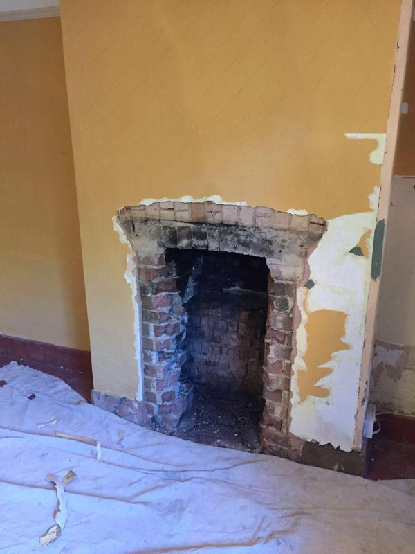Image 55 - Fireplace removed