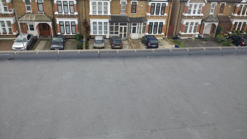 Image 35 - GRP fibreglass roofing we had to put new rubber roof after other company layed this after 2 years