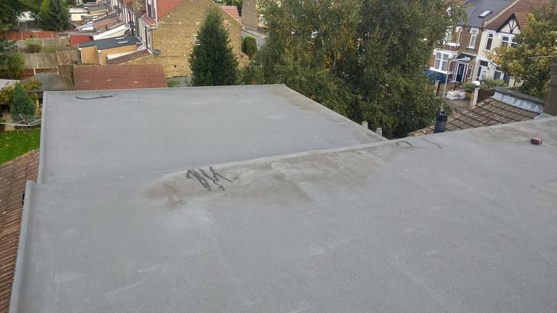 Image 34 - GRP fibreglass roofing we had to put new rubber roof after other company layed this after 2 years