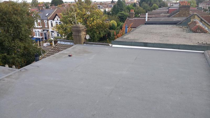 Image 36 - GRP fibreglass roofing we had to put new rubber roof after other company layed this after 2 years