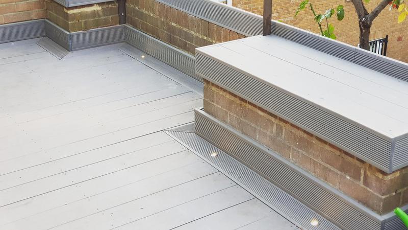 Image 35 - Garden Composite Decking Installation