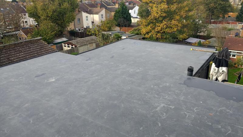 Image 7 - new laid firestone rubber loft roof