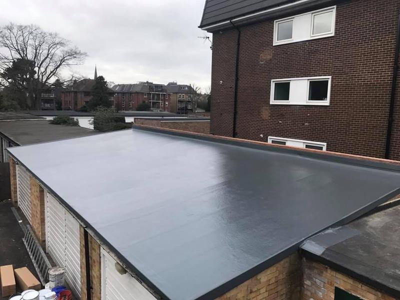 Image 2 - New fibre glass roof ealing