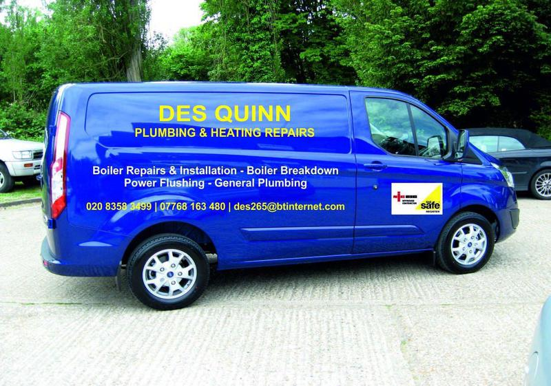 Des Quinn Plumbing and Heating logo
