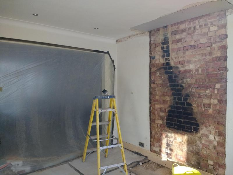 Image 33 - removing chimney breast to local building contral approval