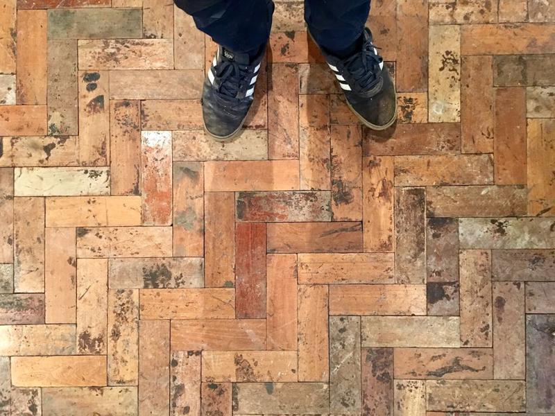 Image 22 - Reclaimed Parquet Floor