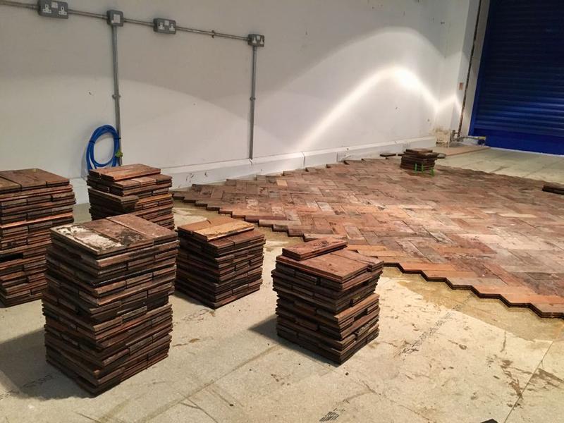 Image 23 - Reclaimed Parquet Floor