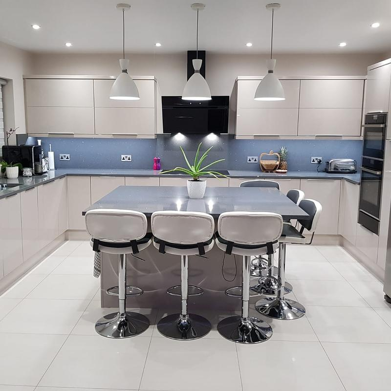 Image 13 - Beautiful kitchen we did the electrics in