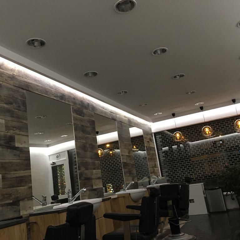 Image 7 - Barber shop we rewired in waltham Abbey