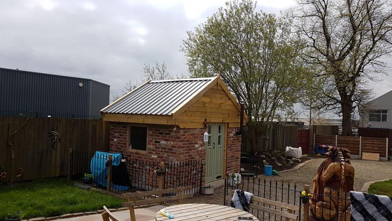 Image 30 - Brick Built Garden Shed / Summerhouse