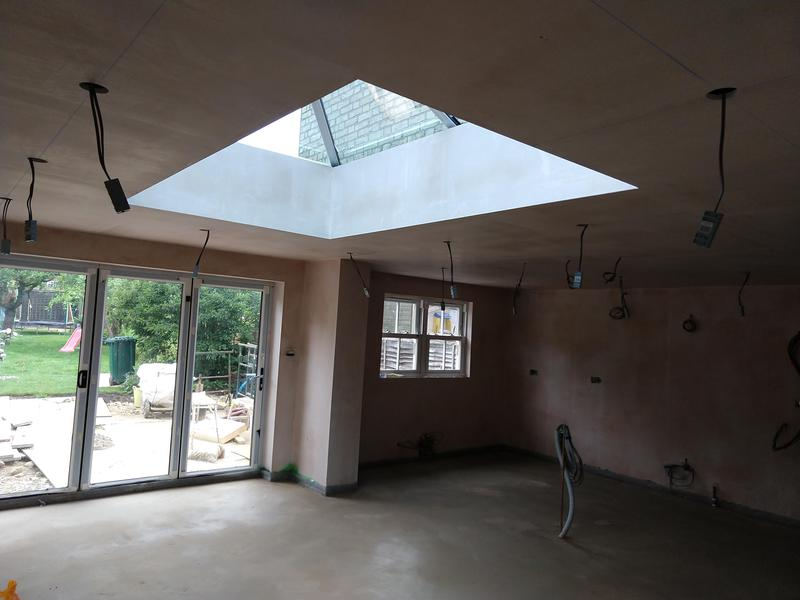 Image 1 - Wrap around Extension in progress. Including wiring for Kitchen/ dinning room, utility room, bathroom and outside lights and power.