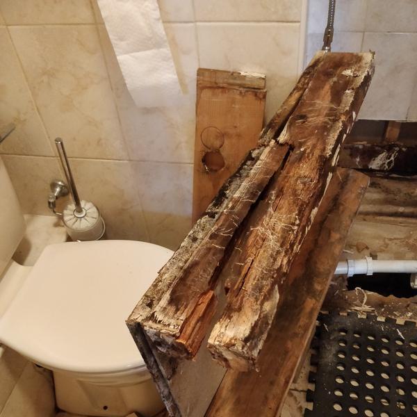 Image 82 - Leaking shower tray base