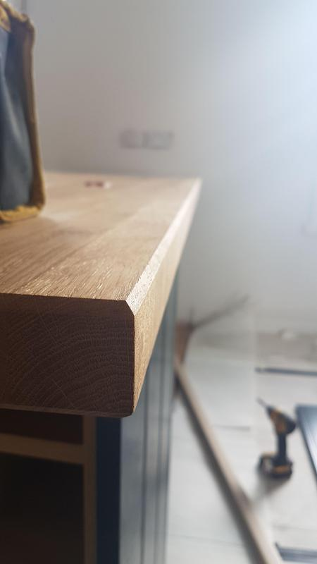Image 28 - Oak worktop profile
