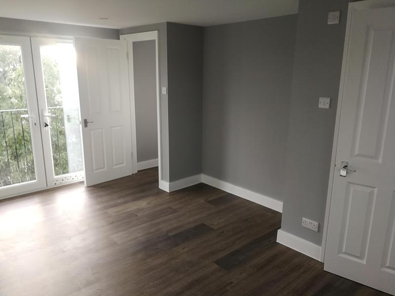 Image 14 - Fully room renovation- skimmed walls, fitted new doors and skirtings, layed new laminate, and fully painted.