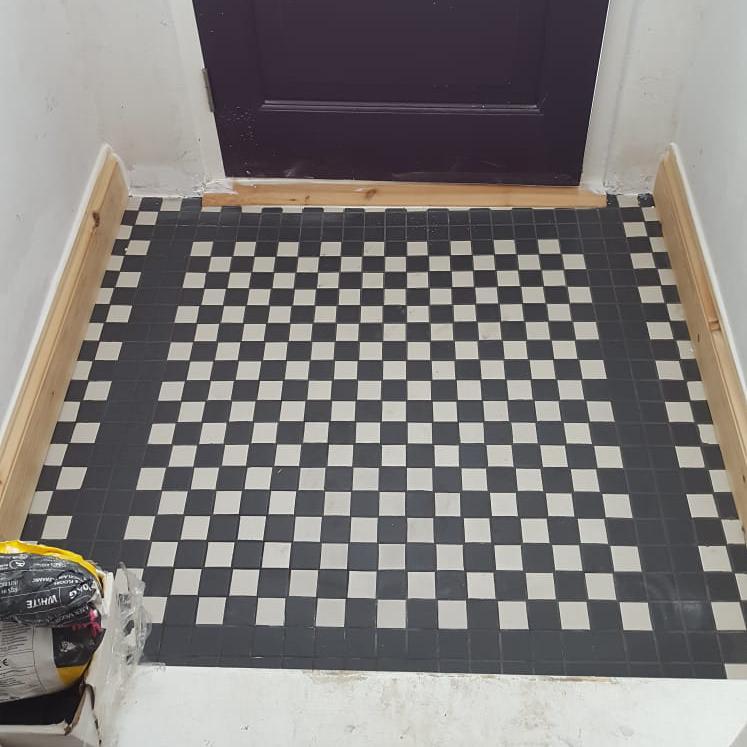 Image 114 - Floor tiling.