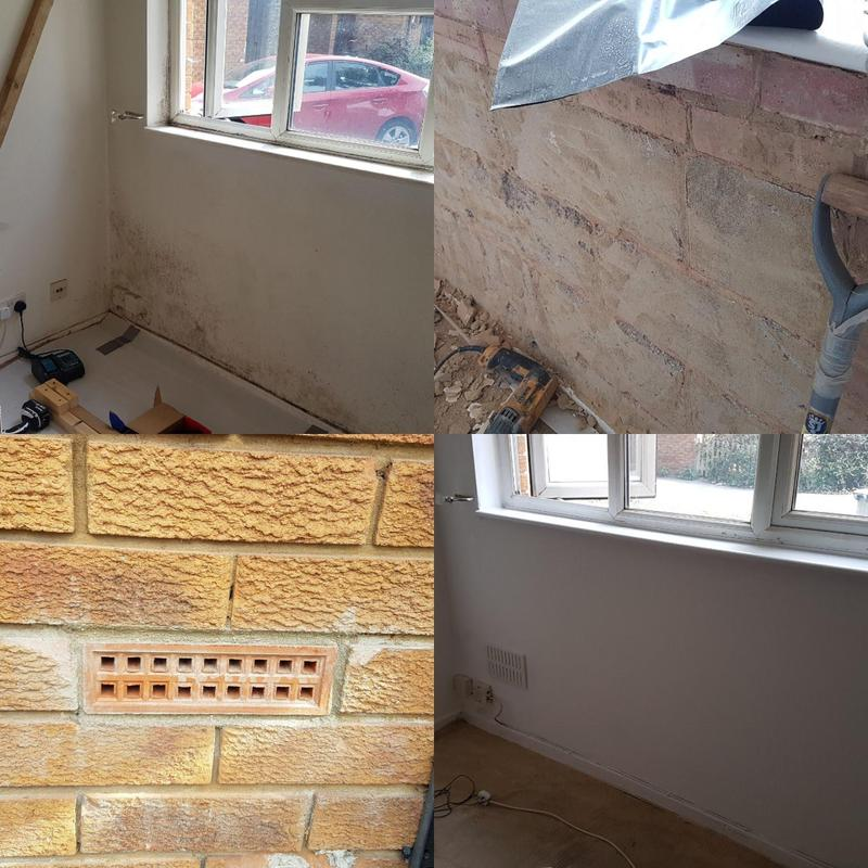 Image 55 - Step by step, treating and repairing a damp wall. All works are subject to 10 years warranty.