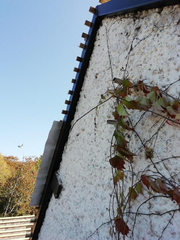 Image 23 - Black ash fascia to side elevation of property