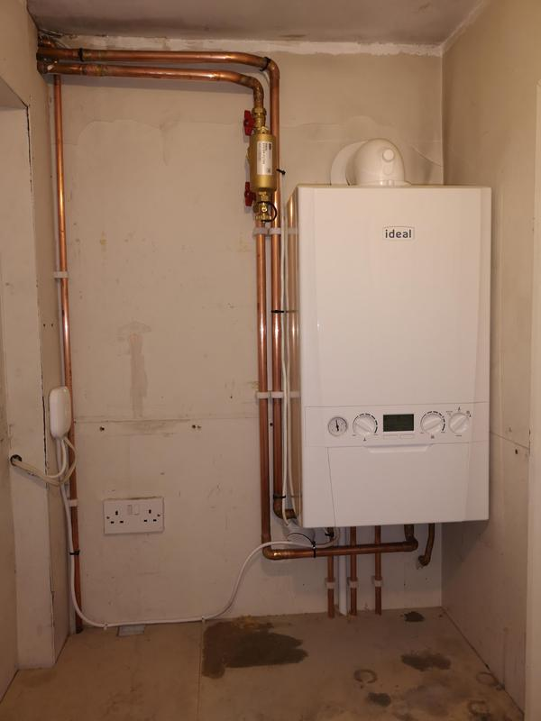 Image 5 - Combi boiler installation and also new NEST system installation