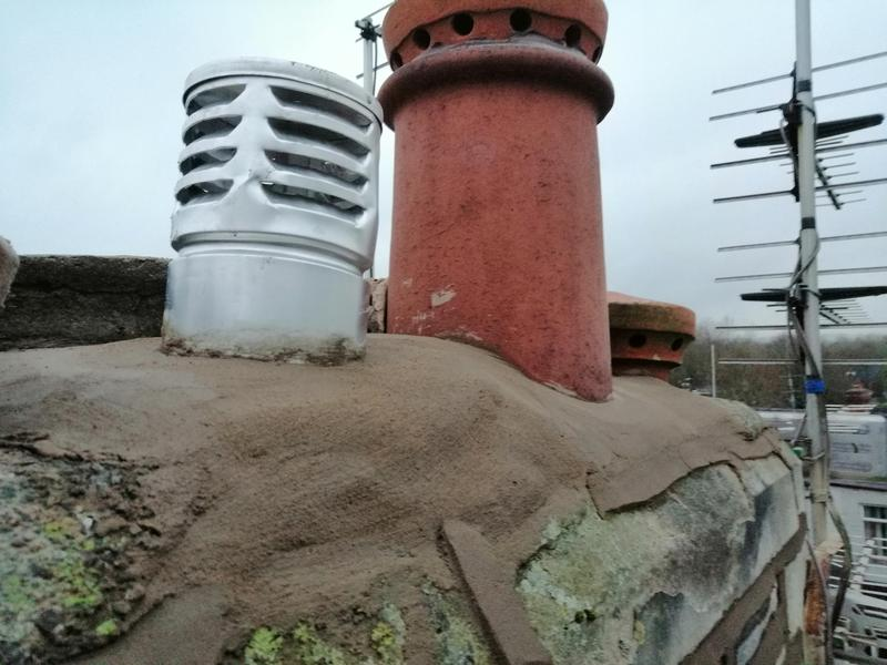 Image 16 - New gas cowl and pepper pot to make watertight
