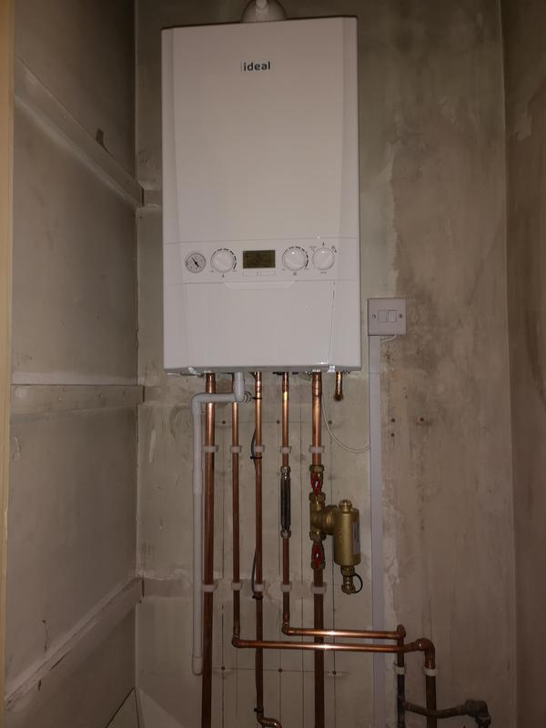 Image 2 - Combi boiler with magnetic filter and inline scale inhibitor