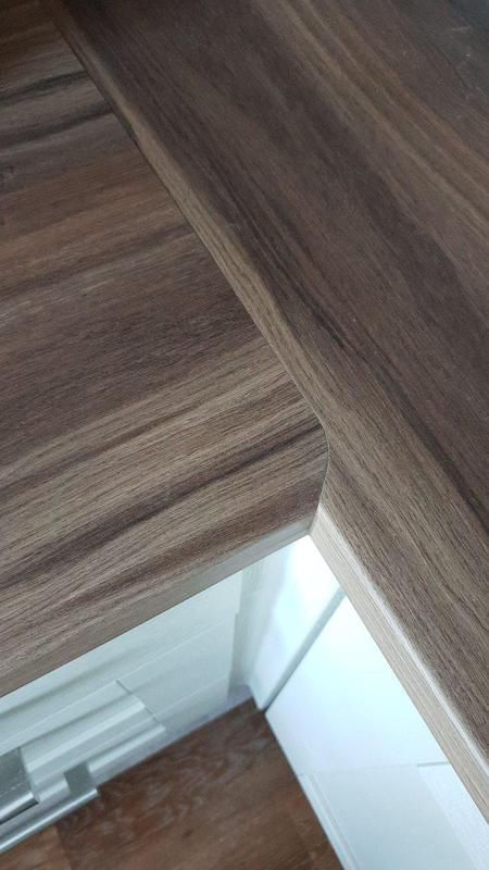 Image 21 - Worktop fitted