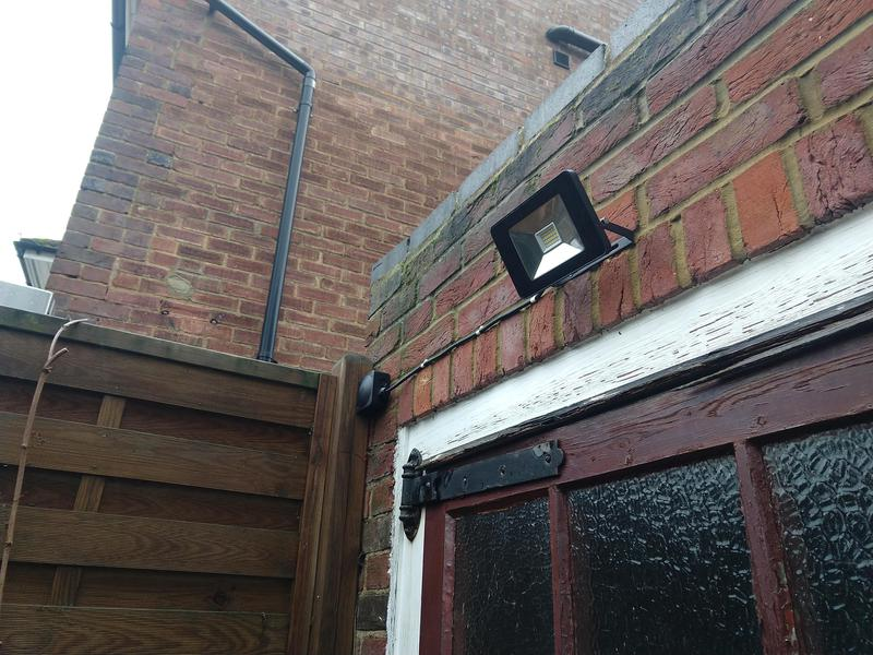 Image 2 - New motion activated LED security light.