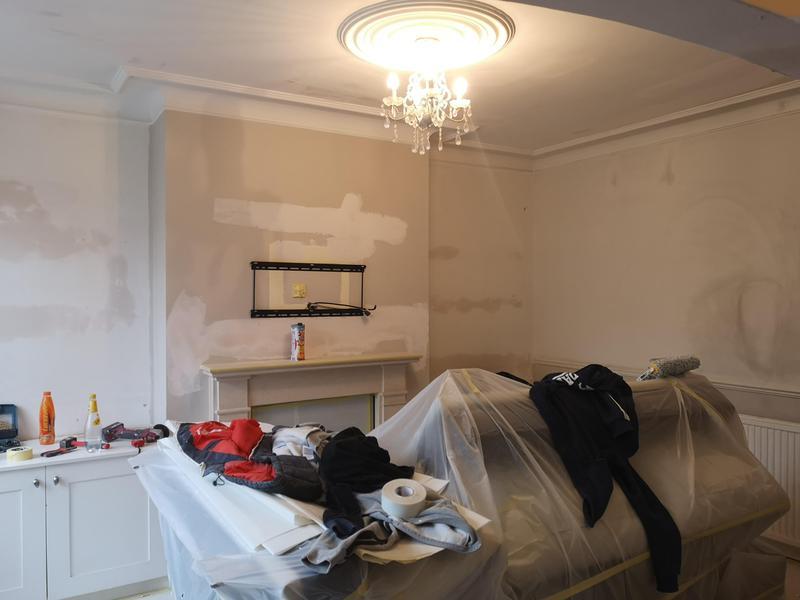 Image 44 - BEFORE. Preparation works, Loughton, IG10