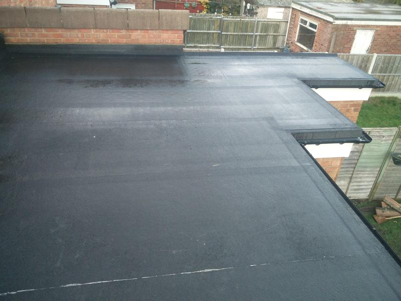 Image 36 - New rubber roof covering. Completed January 2019. Chapelfields.