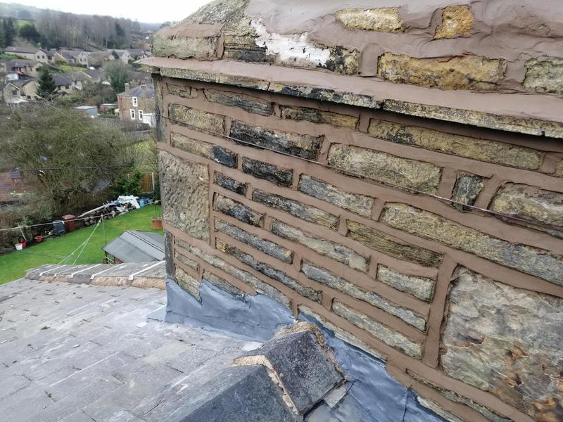 Image 12 - Chimney pointed and leadwork sealed