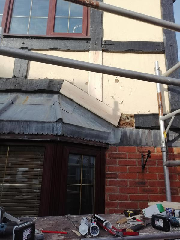 Image 3 - Replacement of rotting beams