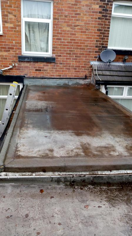 Image 11 - A old leaking felt flat roof.watch the step by step installation process