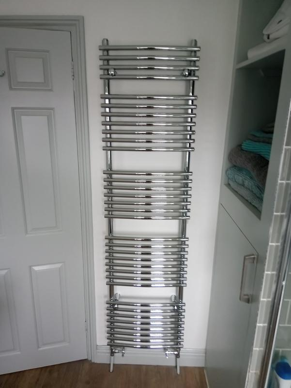 Image 3 - Replacement heated towel rail.