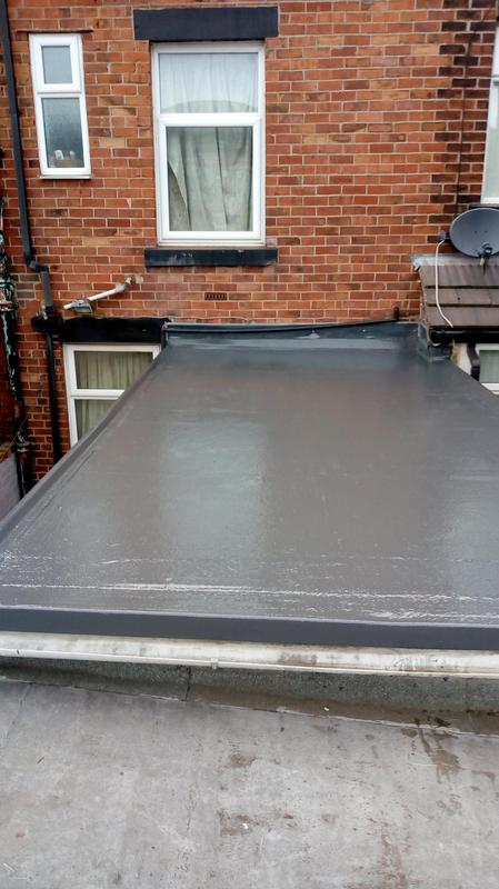 Image 19 - Finished !.a new GRP fibreglass roof