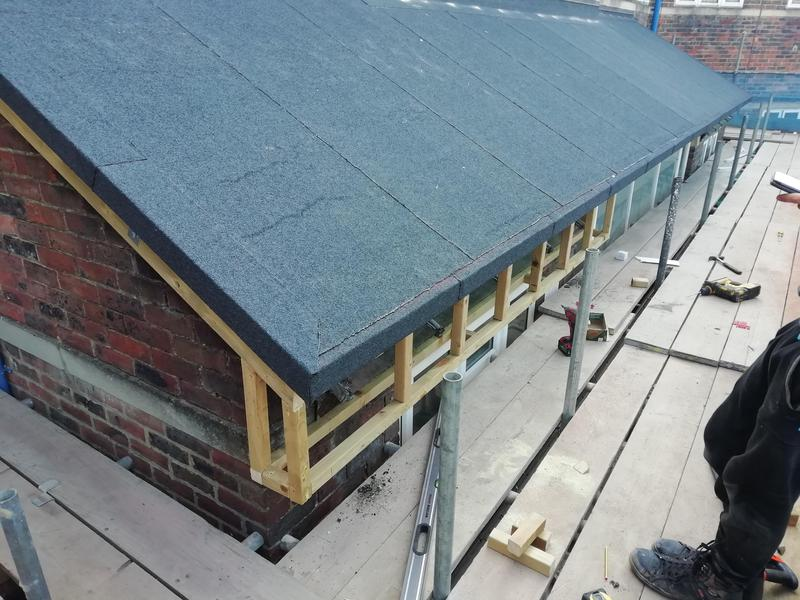 Image 27 - New framework for soffit and fascia.