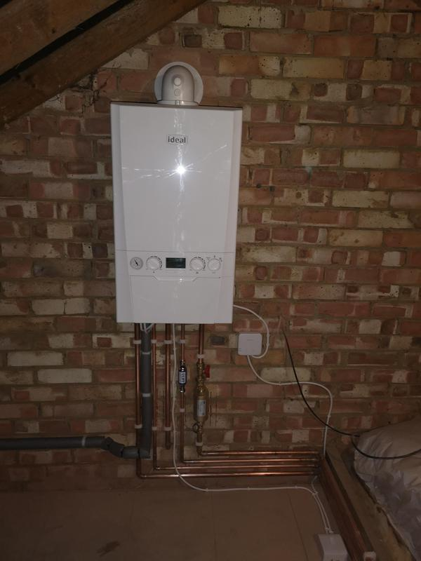 Image 13 - Ideal Logic Max C30 boiler and completely new heating system installed. Boiler was equipped with magnetic filter and inline scale inhibitor. 10 years parts and labour warranty.