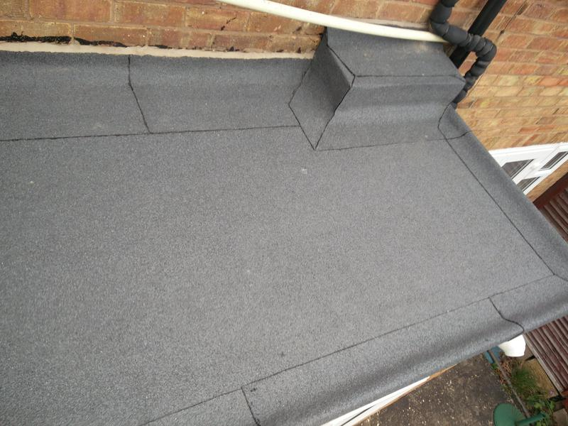 Image 27 - Garage/Utility/Kitchen Roof Covering Replacement. Completed April 2019, Tile Hill.