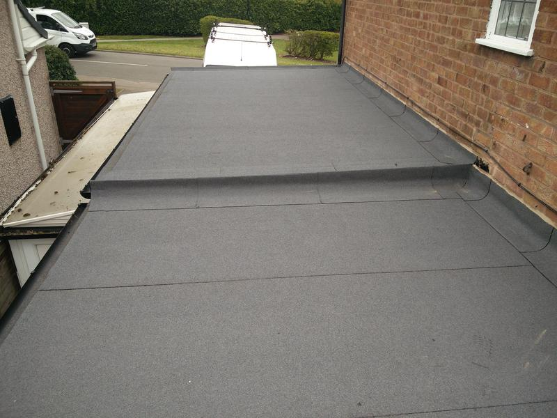 Image 28 - Garage/Utility/Kitchen Roof Covering Replacement. Completed April 2019, Tile Hill.
