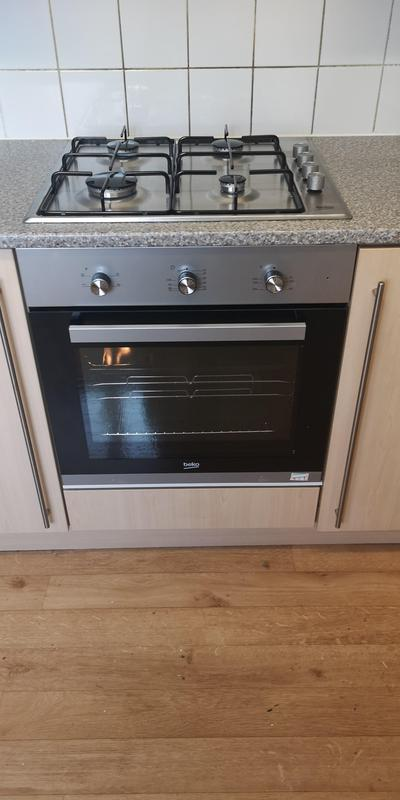 Image 12 - New gas hob and electric oven installed.