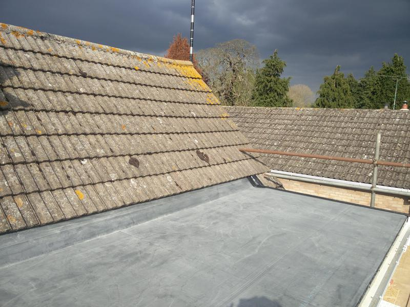 Image 118 - Dormer Rubber Covering Replacement, Completed April 2019, Wolston.
