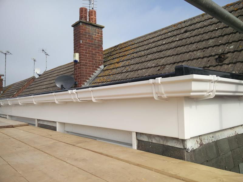 Image 120 - Dormer Rubber Covering Replacement, Completed April 2019, Wolston.