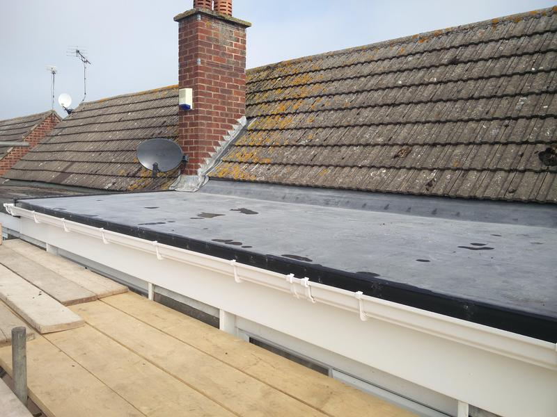 Image 121 - Dormer Rubber Covering Replacement, Completed April 2019, Wolston.