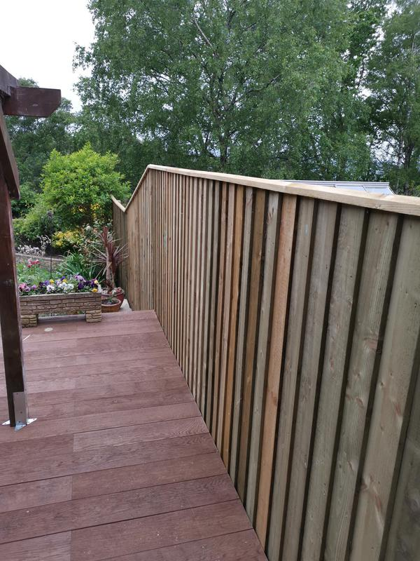 Image 11 - Fence and decking