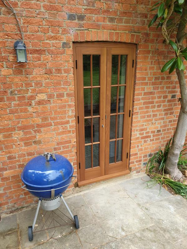 Image 5 - One set of French doors replaced at Mockbeggar oast
