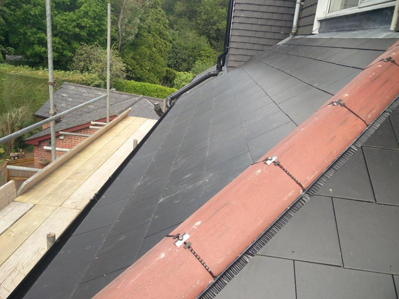 Image 108 - Main Roof Covering with fascia, soffit and guttering replacement. Completed May 2019, Tile Hill.
