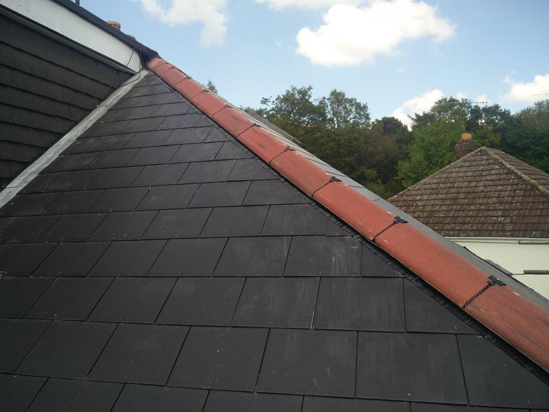 Image 107 - Main Roof Covering with fascia, soffit and guttering replacement. Completed May 2019, Tile Hill.