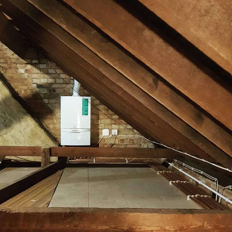 Image 80 - Loft Boiler Installation