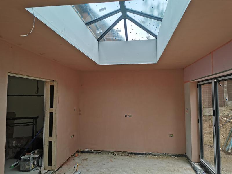 Image 9 - Flitwick extension all drylining and plastering undertake