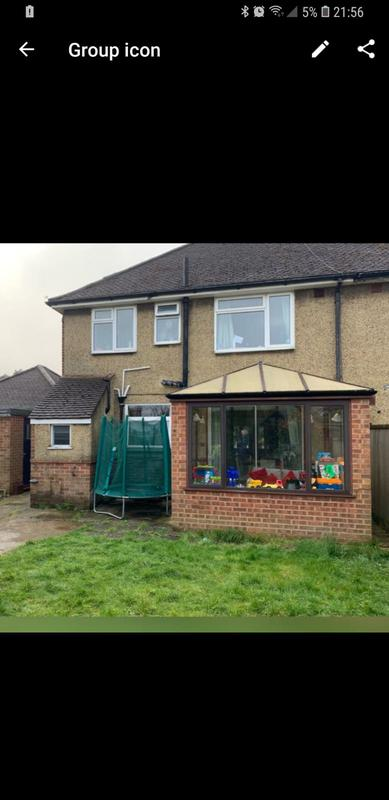 Image 36 - Before - single story rear extension               ref- SP72