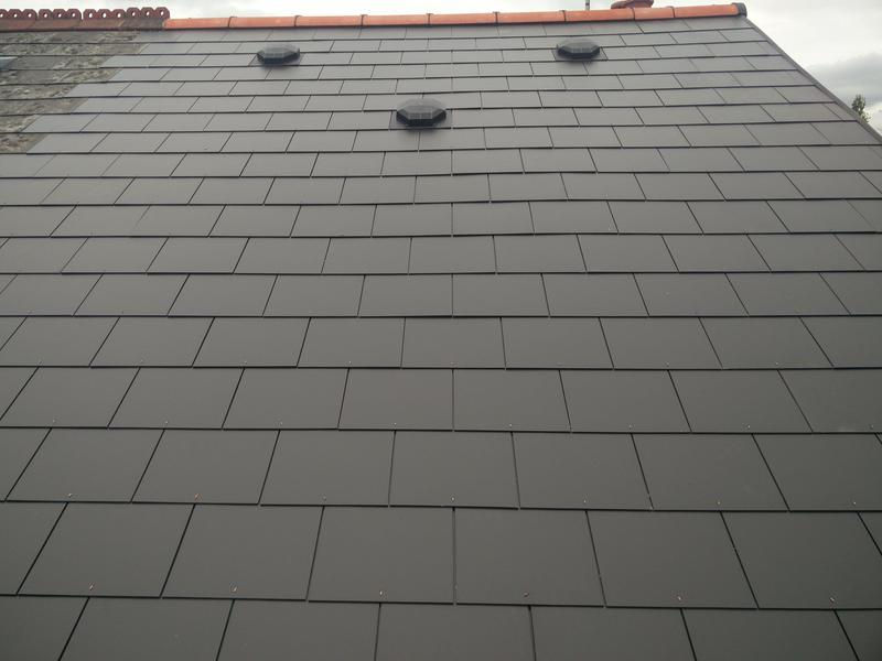 Image 95 - Main Roof Replacement in light weight slate, completed June 2019, Earlsdon.