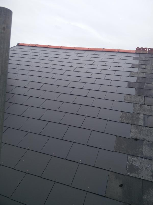 Image 96 - Main Roof Replacement in light weight slate, completed June 2019, Earlsdon.
